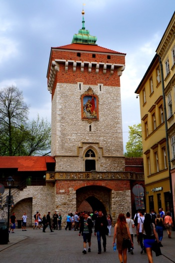 northern tower Krakow